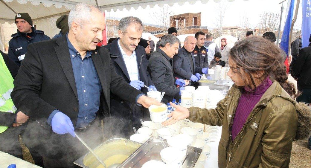 Başkan Büyükgöz Elazığ'da