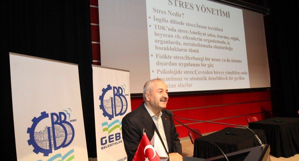 Gebze'de Stres Yönetimi Semineri