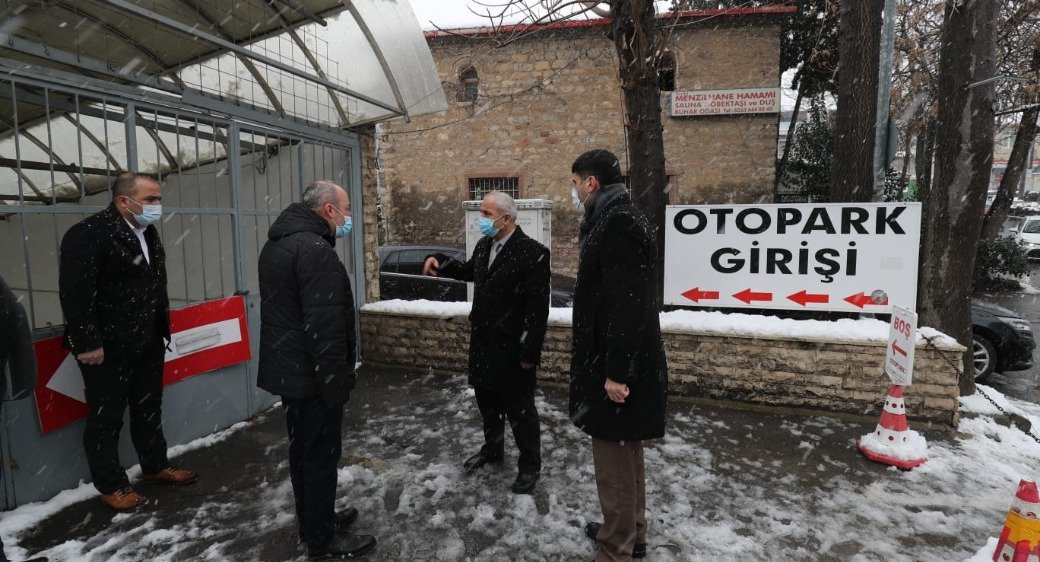 Şehir Merkezindeki Otopark Gebze Belediyesi'ne devredildi