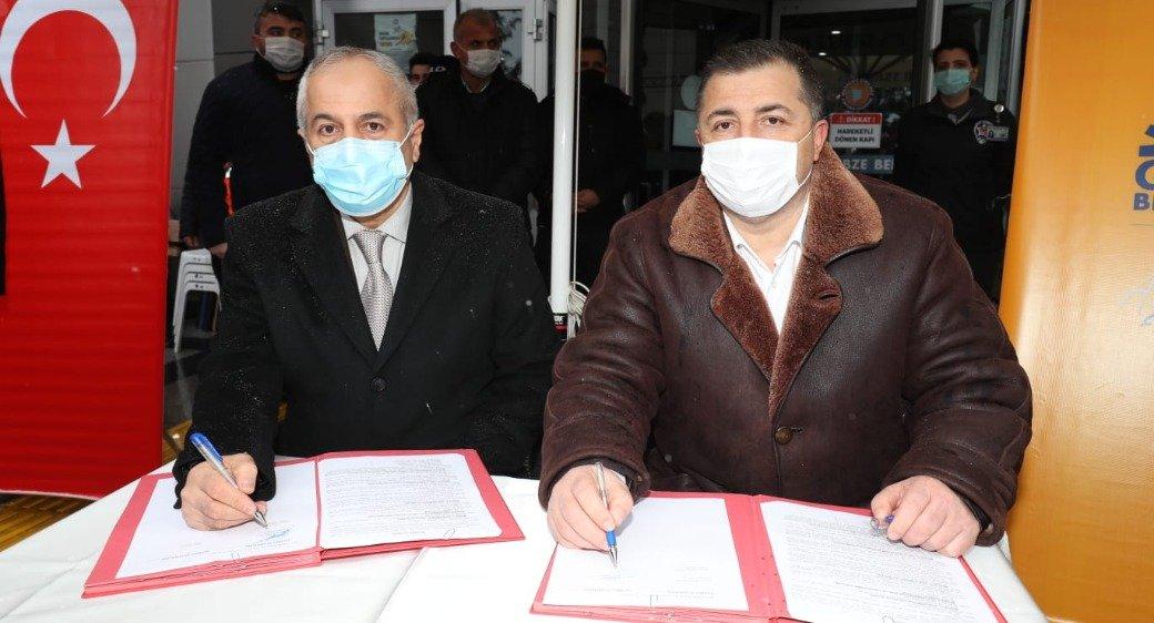 Gebze'de imzalar atıldı, toplu iş sözleşmesi yapıldı