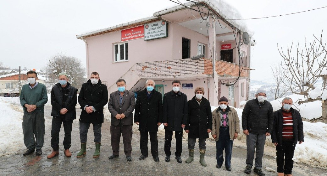 Başkan Büyükgöz'den köylere çıkartma