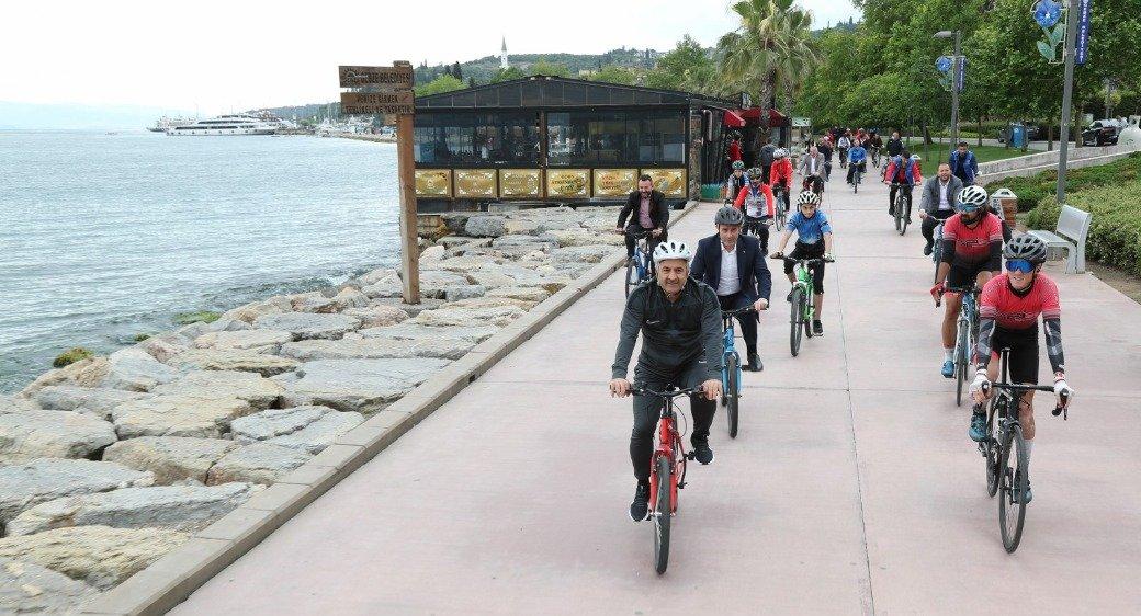Gebze'de Bisiklet Günü Etkinliği