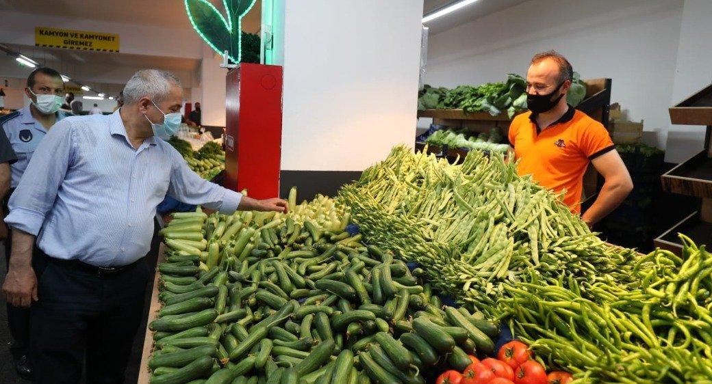 Güzide Pazar'da Alışveriş Başladı