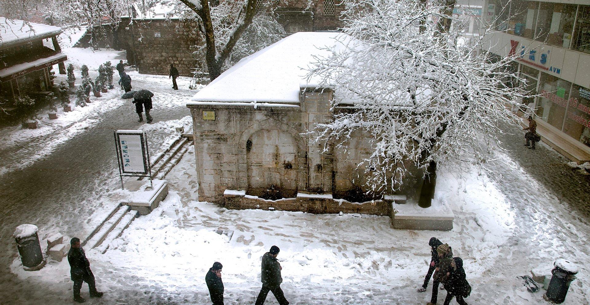 Kent Meydanı Kış